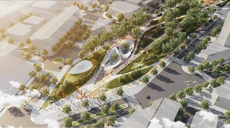 thiết kế Công viên 23 tháng 9