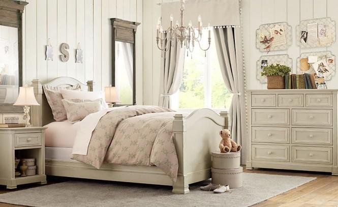 Mẫu thiết kế phòng ngủ cho trẻ phong cách cổ điển