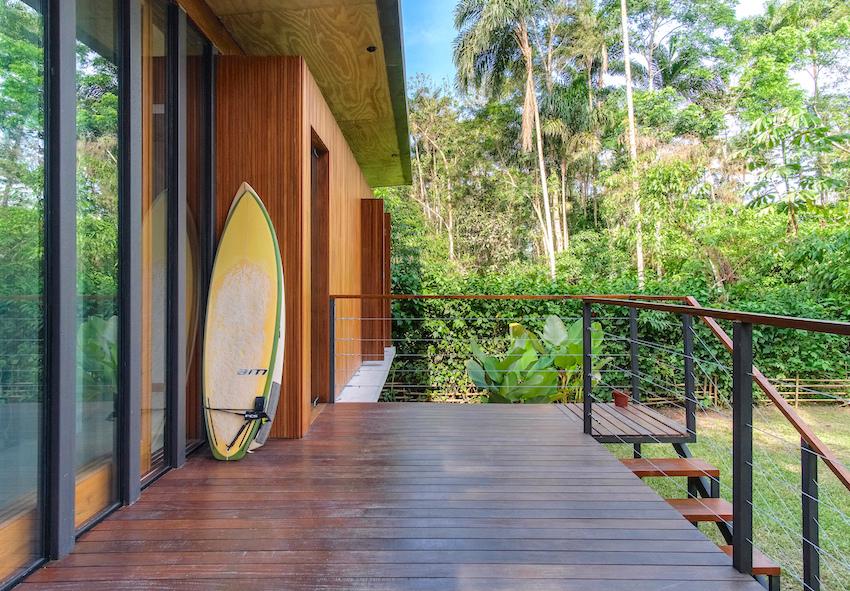 thiết kế nhà trong rừng