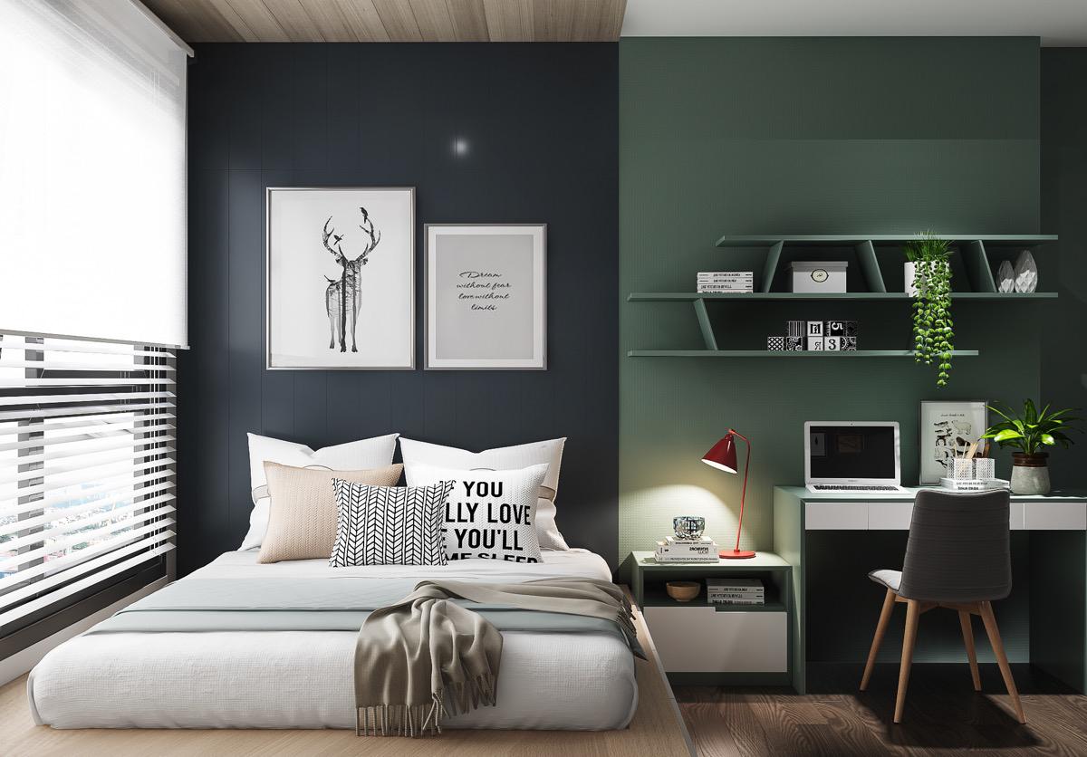 phòng ngủ tuổi teen ấn tượng