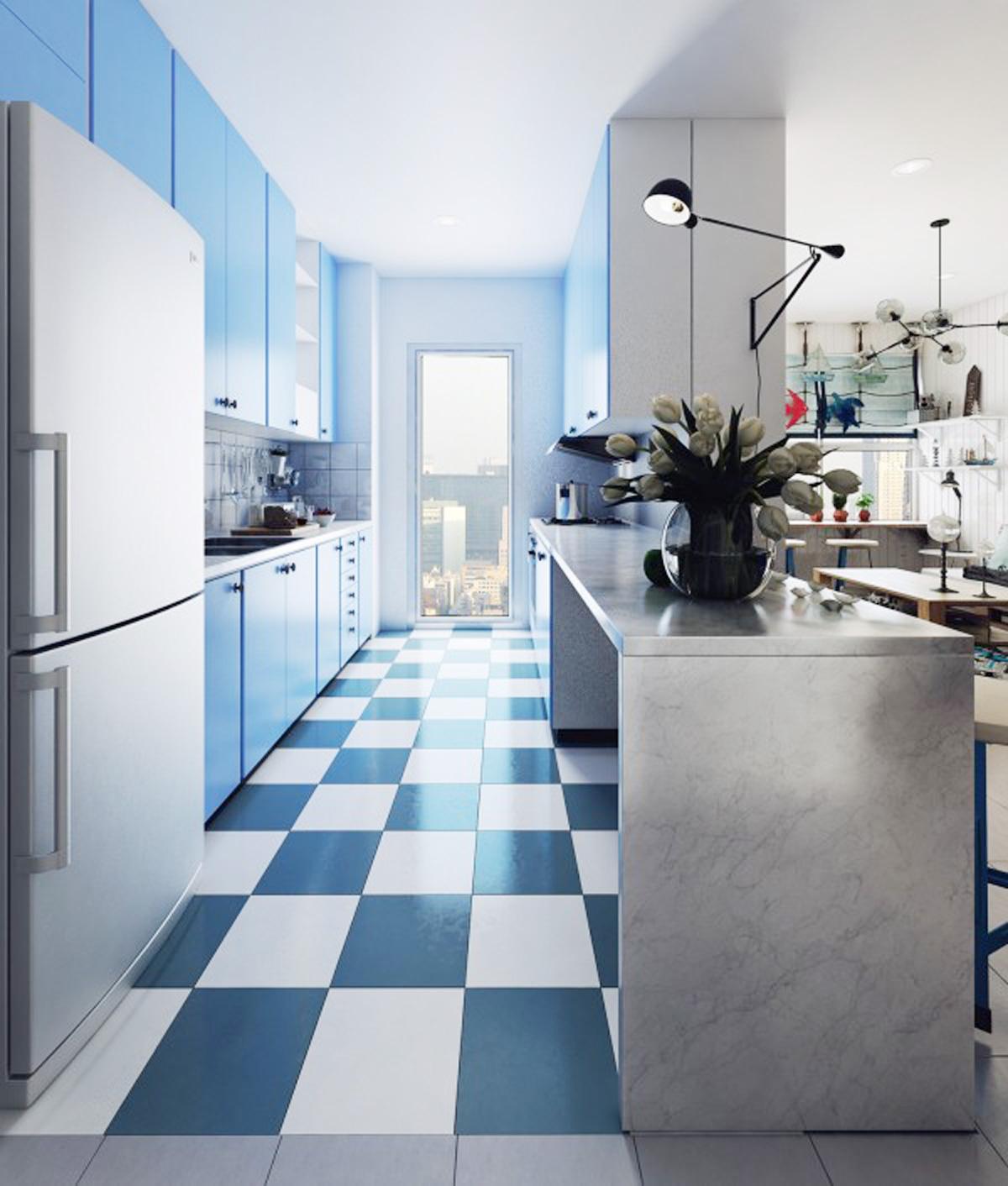 phòng bếp đẹp bình yên