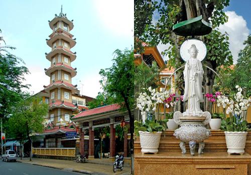 chùa cổ Sài Gòn