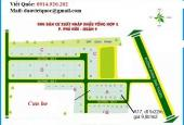 Bán lô đất dự án Xuất Nhập Khẩu Tổng Hợp 2, Phú Hữu. Sổ đỏ, góc 2 mặt tiền, giá 12,5tr/m2