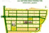 Bán đất dự án Sở Văn Hóa Thông Tin, quận 9, giá tốt nhất. LH: 0907107686