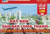 Dự án sân bay Long Thành, mặt tiền QL51, sổ đỏ, NH hỗ trợ 70%, 0901328123 Kim Hải