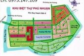 Bán nhanh lô biệt thự khu DA Phú Nhuận, đường Liên Phường, Đỗ Xuân Hợp, lô giá rẻ. LH 0914920202