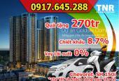 Mua chung cư Goldsilk Complex cơ hội sở hữu 2 xe hơi, tặng 1 cây vàng, CK 8.7%, LH: 0917 645 288