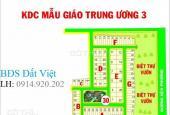 Bán lô đất diện tích 12x18m, dự án Mẫu Giáo Trung Ương 3. Sổ đỏ, giá 16tr/m2