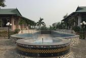 Bán resort được thiết kế trên 3ha(30.000m2) rất đẹp thuộc xã Kim Lan, Gia Lâm, Hà Nội