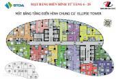 Chính chủ bán căn 66m2 chung cư Elip Tower giá 17tr/m2