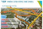 Bán nhà mặt tiền ngay Bùng Binh Sơn Tịnh, thanh toán 320 triệu nhận nhà ngay