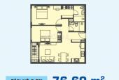 Cơ hội đầu tư, cần sang lại HĐ căn hộ 2PN Sunrise City View (Novaland) DT 76m2 chỉ 2 tỷ 250tr