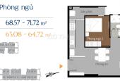 Bán căn hộ Him Lam Phú An Quận 9, 69m2, 2 PN, 2 WC, LH: 0915.04.9925