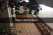 Cho thuê nhà trong ngõ Lê Thanh Nghị, nhà riêng xây 2 tầng