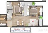 Cần bán căn số 10 tòa C 283 Khương Trung – DT 93m2