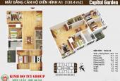 Chủ nhà bán căn hộ 4 phòng ngủ, tại 102 Trường Chinh, 130m2, giá 32 triệu/m2