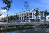 Bán nhà phố biệt thự ven sông, 1 trệt, 3 lầu, mặt tiền 30m, liền kề quận 1, chỉ TT 35% nhận nhà