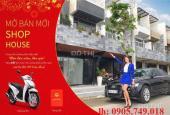 Bán nhà 2 mặt tiền xây sẵn - ngã 4 Ngô Quyền - cạnh công viên Đại Dương - Lh: 0905.749.018