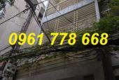 Bán nhà số 14 ngõ 53/2 Nguyễn Ngọc Vũ, P. Trung Hòa, Cầu Giấy, 6,6 tỷ, 0961778668