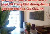 Sang nhượng quán Massage, số 14 ngõ 39 phố Trần Kim Xuyến, phường Yên Hòa
