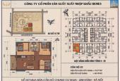 Cần bán căn hộ 1132 chung cư HH4A, 3 PN view đẹp chính chủ