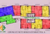 Tôi Hoa chính chủ căn hộ CC OCT5 Cổ Nhuế cần bán gấp 1808 tòa A, DT, 64.5m2/16.5 tr/m2. 0981129026