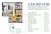 Cần tiền bán gấp căn hộ 3 phòng ngủ, ban công Nam tòa Horizon N03T4 giá rẻ hơn 400 triệu