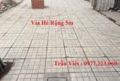 Bán đất mặt phố Cao Xanh. DT 56.25m2, MT 4.5m, hướng TB