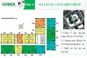 (0985354882) cần bán gấp CHCC CT4 Eco Green City, Nguyễn Xiển, căn số 1608, DT: 67m2, giá 25tr/m2