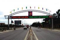 Thủ tướng phê duyệt nguyên tắc xây dựng Trung tâm Hành chính tỉnh Thái Bình