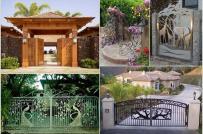 Những chiếc cổng nhà đẹp hoàn hảo
