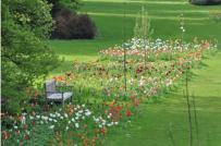 Xây vườn lãng mạn kiểu Bỉ