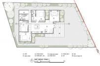 Thiết kế nhà cấp 4 tiện lợi cho gia đình 4 người