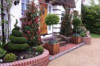 Những thiết kế sân vườn trước cửa siêu đẹp