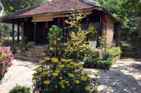 Vườn xanh mát từ 3.000m2 đất hoang của cô chủ tiệm