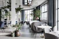 Những phòng ăn mát lịm nhờ trang trí bằng cây xanh