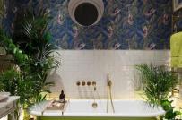 Biến hóa cách trang trí phòng tắm