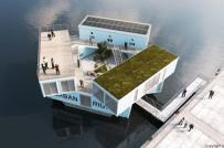 Chiêm ngưỡng ký túc xá lãng mạn trên sông ở Đan Mạch