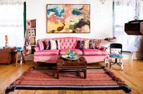 Lạ mắt thiết kế nội thất theo phong cách Bohemian