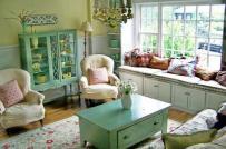 Ấn tượng nội thất mang màu sắc đồng quê yên bình