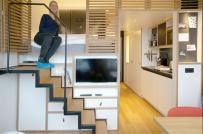 Thiết kế căn hộ nhỏ thông minh như người Hà Lan
