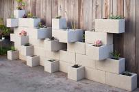 Độc đáo trang trí nhà bằng gạch block