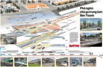 Tp.HCM sắp xây TTTM ngầm Bến Thành gần 7.000 tỷ