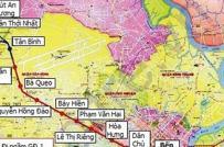 Thu hồi đất ở 6 quận cho tuyến metro Bến Thành - Tham Lương, Tp.HCM