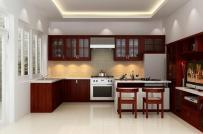 Gợi ý cách chọn gạch ốp tường cho khu bếp thêm sang trọng