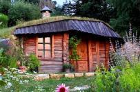 Phòng trà nhỏ xinh ẩn mình bên sườn đồi ở Slovenia