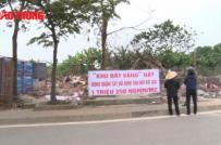Dân phản đối vì thu hồi đất vàng giá 1,5 triệu đồng/mét vuông