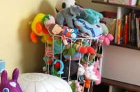 Những cách cất thú bông gọn gàng trong phòng trẻ