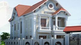 Tư vấn thiết kế biệt thự 3 tầng đẹp theo phong cách Pháp