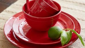 Đón năm mới may mắn với bộ phụ kiện bếp màu đỏ